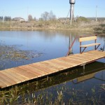 Pagal pageidavimus gaminame tiltus, prieplaukas